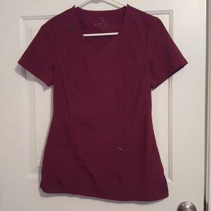 Cherokee Infinity wine / burgundy scrubs